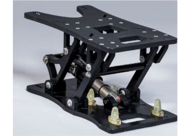SHOCK-WBV P2 DNM AIR Shock - Seat Suspension - Colour: Black