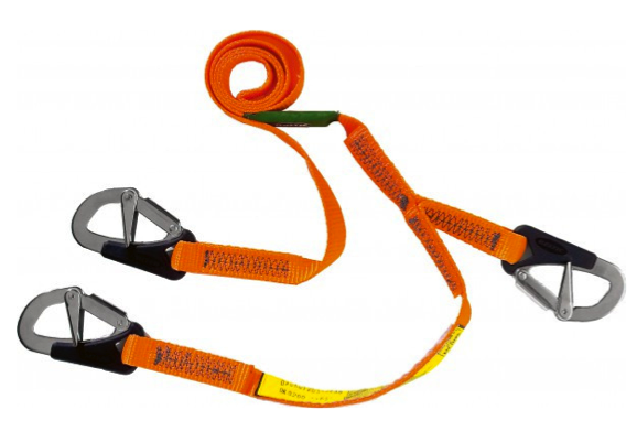 Baltic Standard Safety Line 2m 3 Hook with Over-Load Indicator