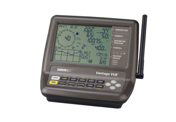 Davis Vantage Vue Weather Station c/w WeatherLink datalogger (6510USB)