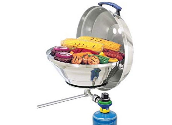 "Magma ""Marine Kettle"" Gas Grill - BBQ - 2 Sizes"