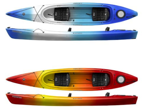 Perception Prodigy 11 14.5 2 Person Kayak