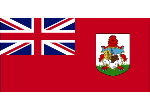 Bermuda Courtesy Flag Polyester 45 x 30cms