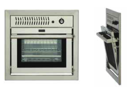 Force 10 Built - In Gas Wall Oven