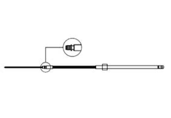 Ultraflex M58 Steering Cable - Various Lengths