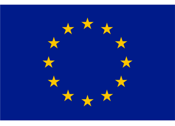 European Union Courtesy Flag Polyester 45 x 30cm