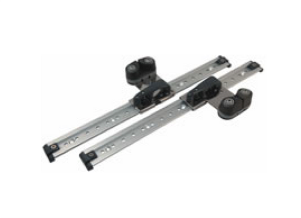 Allen 22mm Horizontal Sliding Fairlead - Pair - 2 Models