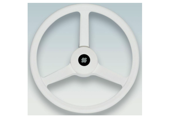 Ultraflex Steering Wheel 3 Spoke - Black or White
