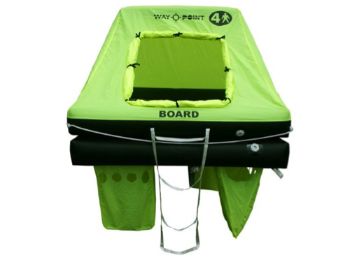 Waypoint Coastal Liferaft in Valise/ Container 4/6/8/10/12 Man