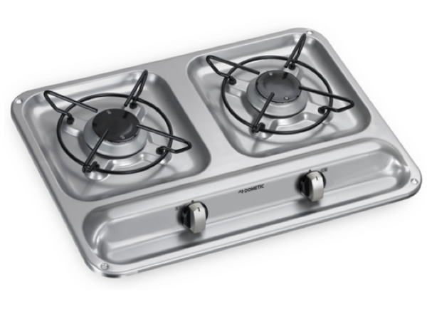 Dometic HB 2325 Two Burner Gas Hob - 450 x 325mm