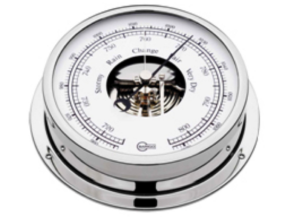 Barigo Viking Barometer Chrome