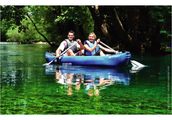 Sevylor Adventure Inflatable Kayak 2 Person