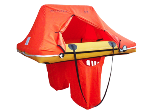 Waypoint 4 Person Coastal Single Tube Lightweight Liferaft in Valise 9.5kg - In Stock