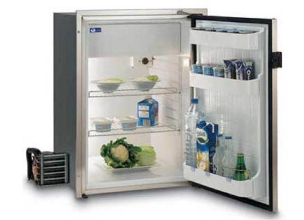 Vitrifrigo C130LXPFTOCX  Remote Compressor Ocean Stainless Fridge 12/24 Volt or with 240V - 4 Compressors