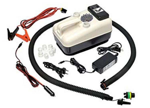 Bravo GE 20-2 Batt Electric Inflatable Pump 22 PSI Including Rechargeable Battery - New 2019 Model - In Stock