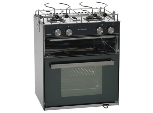 Dometic Starlight Cooker - 2 Burner Hob, Oven & Grill