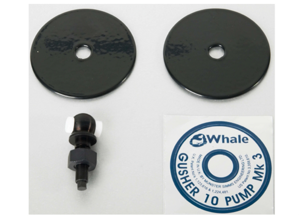 Whale AS3719 Gusher 10 Eyebolt/Clamp Plate Assembly