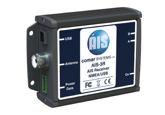 Comar AIS-3R AIS Dual Channel Parallel receiver with NMEA/USB Output