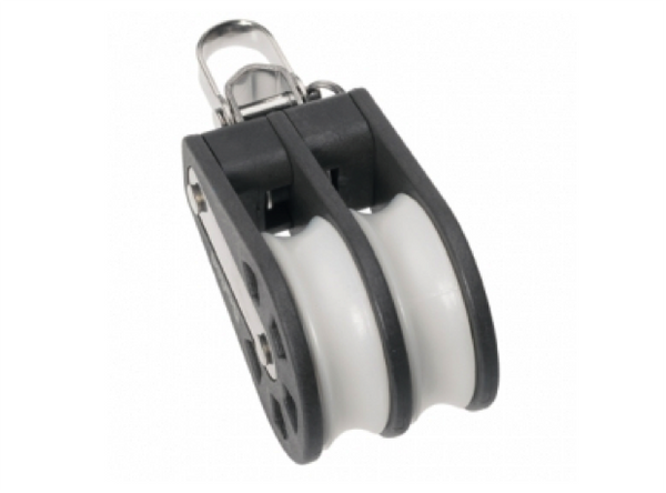Barton Double Block Reverse Shackle, Size 1-30mm Sheave
