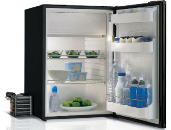 Vitrifrigo C95LBLAL 95 Litre Grey Air Lock Fridge 12/24V or with 240v - Remote - 4 Compressors
