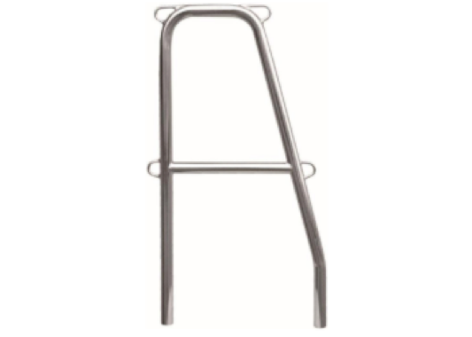 Allen Standard Stainless Steel Gate Stanchions - 2 Sizes