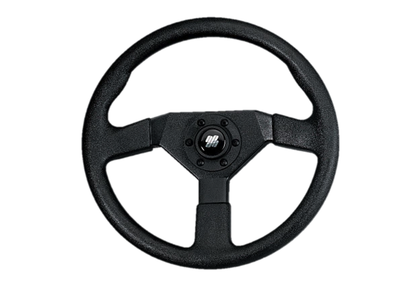 Ultraflex Steering Wheel 3 Spoke Soft Grip 350mm