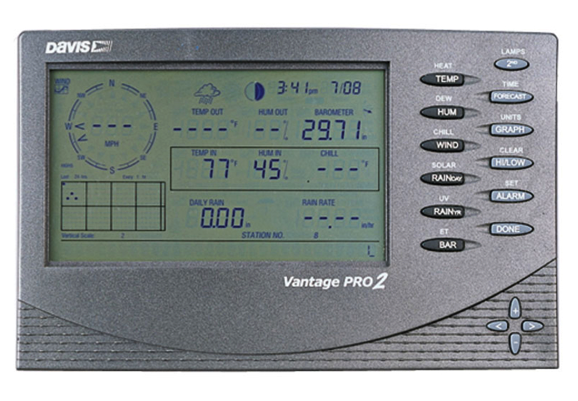Davis Vantage Pro2 Weather Station - Cabled