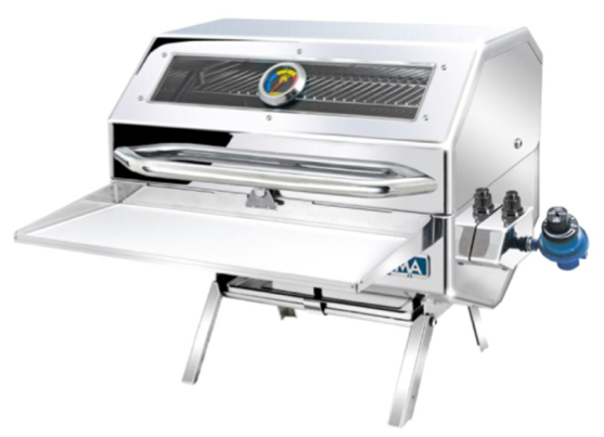 "Magma Catalina"" Infrared Gas Grill A10-1218LSCE-2 - 30 x 46cm"