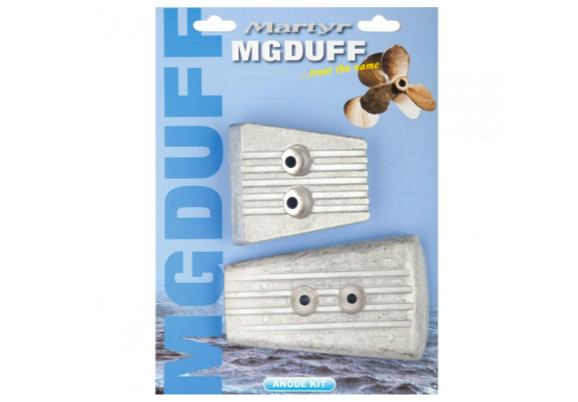 MgDuff Volvo SX-A / DPS-A Drives Anode Kit Brackish or Freshwater Kits