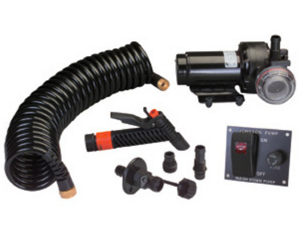 Johnson Aqua Jet Wash Down Pump Kit 12/24V