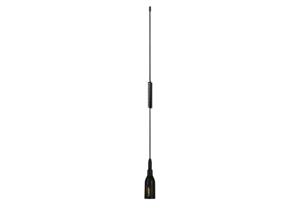 Supergain Target VHF S/S Whip Antenna - 3Db 6M Cable With Ratchet Mount Base