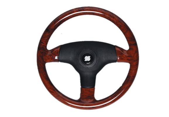 Ultraflex Antigua Steering Wheel Briar Look Hard Grip