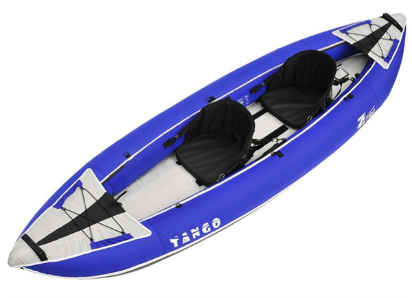 Z-Pro Tango 200 Inflatable Recreational Kayak - 1 - 2 Person - 2 Colours