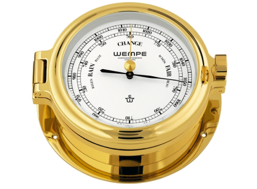 Wempe Regatta Series Barometer 140mm - Gold Plated Case