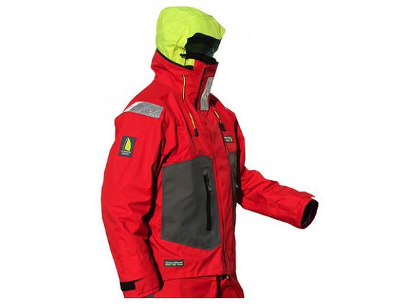 Hudson Wight HW1 Offshore Jacket  Red