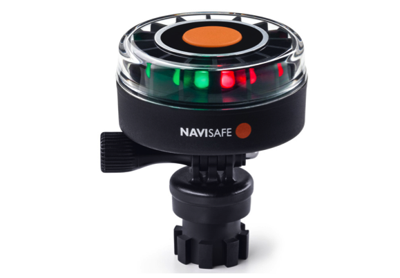 Navisafe Navilight Tricolour 2NM with Navimount base