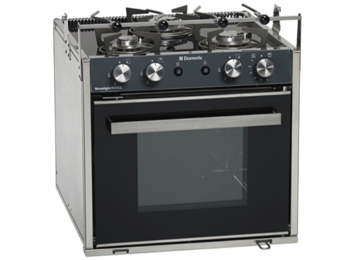 Dometic Smev Moonlight Three Cooker - 3 Burner Hob, Oven & Grill