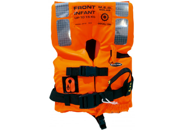 Baltic 2010 M.E.D./SOLAS Infant Foam Lifejacket - 0 - 15 kg