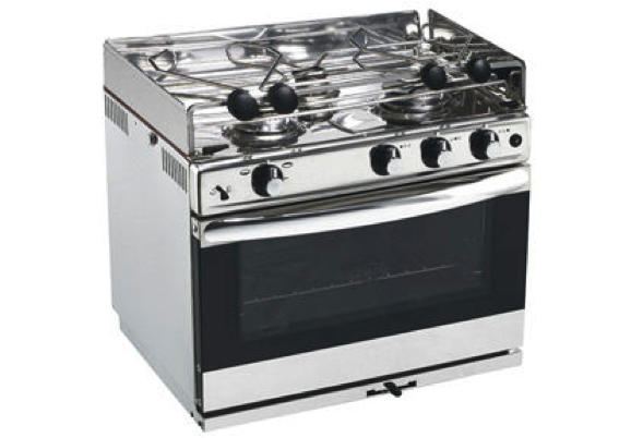 Eno grand large 3 3 burner grill oven galley range in stainless eno grand large 3 3 burner grill oven galley range in stainless steel with ignition publicscrutiny Choice Image