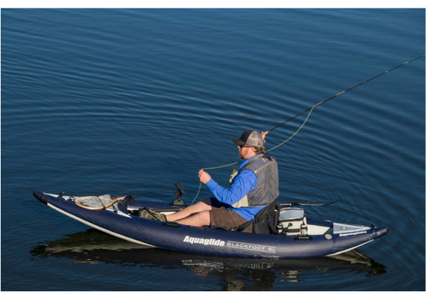 Aquaglide Blackfoot HB Angler SL Infaltable Kayak - 1 Person