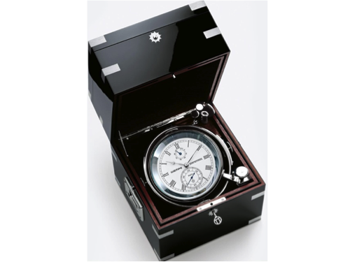 Wempe Unified Chronometer with Manufactory Calibre 5 - Chrome/Nickel Plated - Black Piano Case