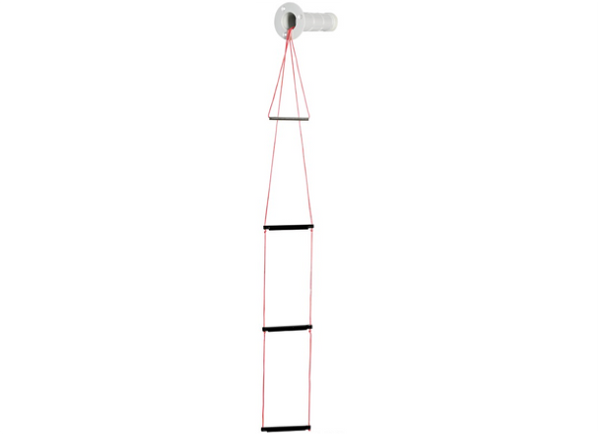 Osculati Recessed 3 - Step Emergency Ladder - Backnut Fixing