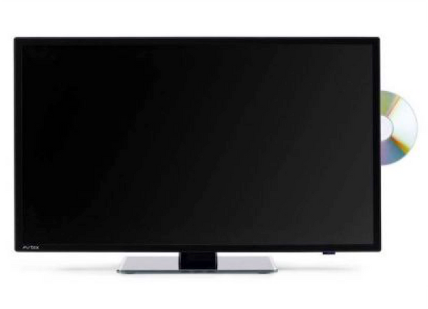 Avtex L247DRS 24''Superslim LED TV with HD Freview SAT DVD REC