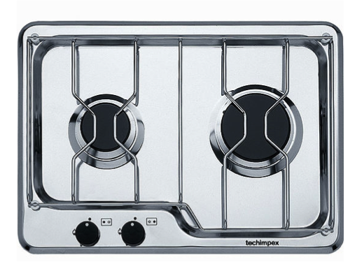 Techimpex Seafarer 2 Built In Gas Hob 2 Burner