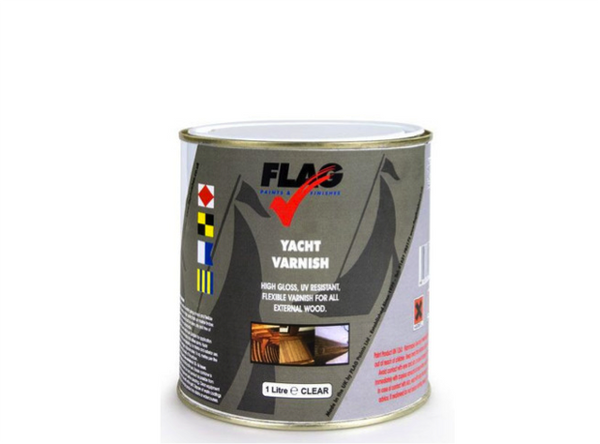 Flag Yacht Varnish 1 Litre