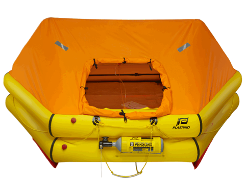 Plastimo Cruiser ORC Liferaft - Valise - 8 Person
