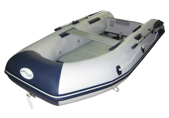 Waveline 2.90m Premium Solid Transom Inflatable Boat with Aluminium Floor
