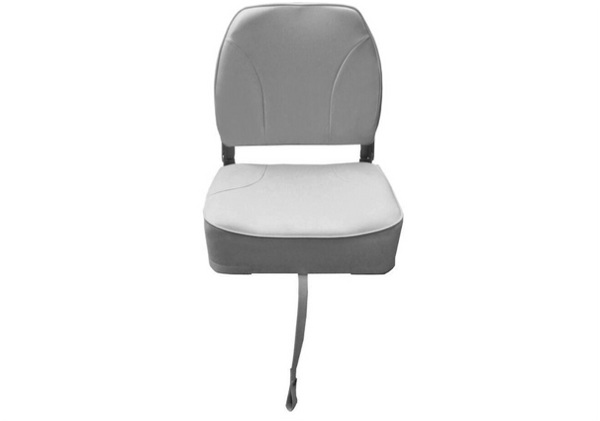Waveline Deluxe Low Back Folding Seat White