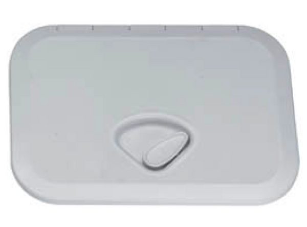 Trem Hatches ( Concealed Screws ) White