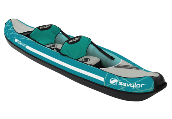 Sevylor Madison Inflatable Kayak 2 Person - 2019 Model