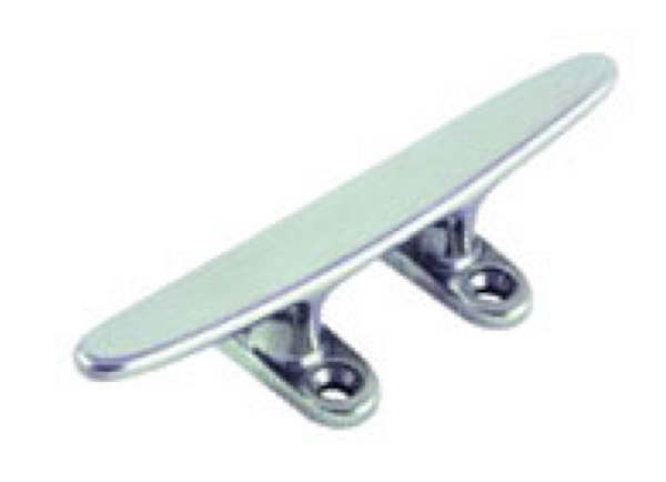 Proboat Stainless Steel Cleat - 4 Hole Low Flat - 3 Sizes